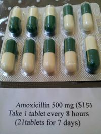 Amoxicillin500mg