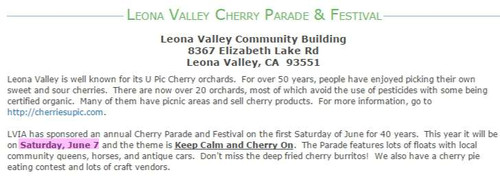 Leona_valley_cherry_parade_and_fest